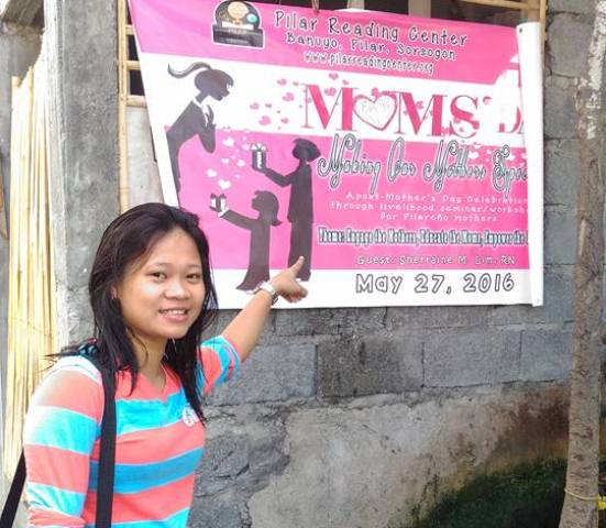 The brain behind the official MOMS' Day tarp