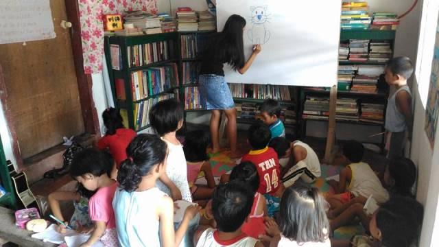 pilar reading center art think