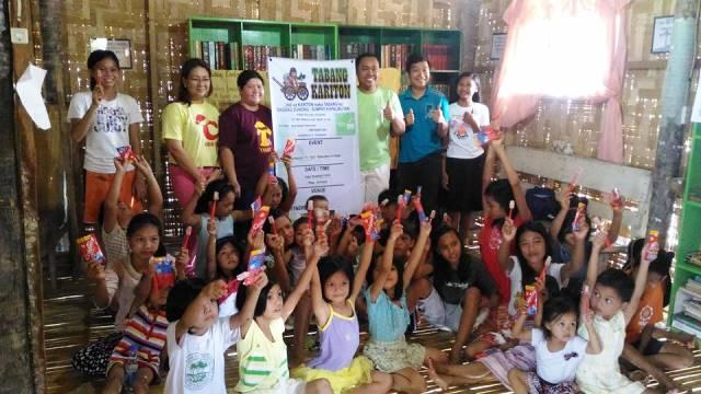Tabang Kariton shares love to PRC