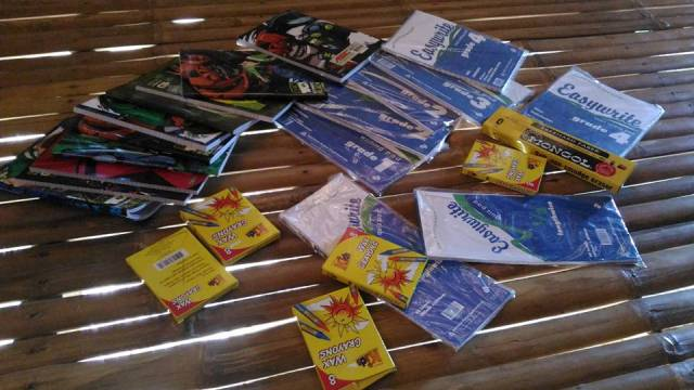 Thanks to our dear friends from Masbate and Legazpi for these helpful supplies