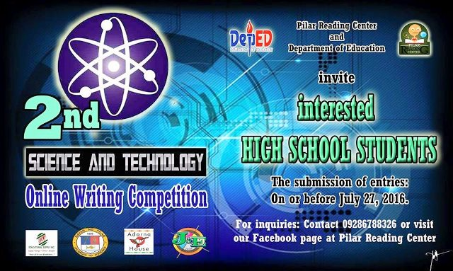 2nd science and technology-online writing competition