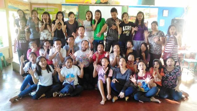storytelling program at pilar sorsogon